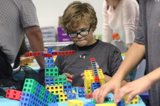 The Boys and Girls Club of Carlsbad's new STEM lab features games and activities to get students interested in math- and science-related fields, Oct. 2, 2019 in Carlsbad.