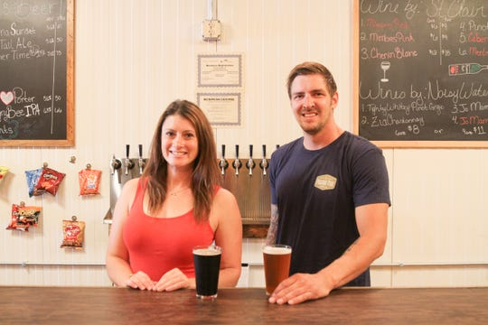 Owners Molly Pattillo and Dylan Olsen recently opened a taproom in Alamogordo, an extension of Picacho Peak Brewing Company in Las Cruces.