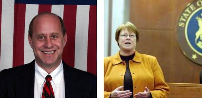 Richard Lerner and Vicki Barnett and both running to be the next mayor of Farmington Hills.