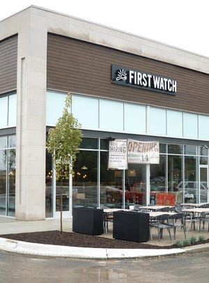 First Watch, which already has this location on Haggerty Road in Livonia, is opening a location in Royal Oak at Woodward Corners by Beaumont.