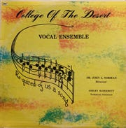 College of the Desert Vocal Ensemble album cover