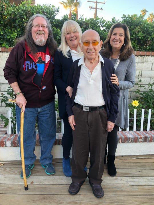 From left: Ken Castro-Oistad, Heidi Frederick, Dr. John Norman, Teresa Castro-Oistad