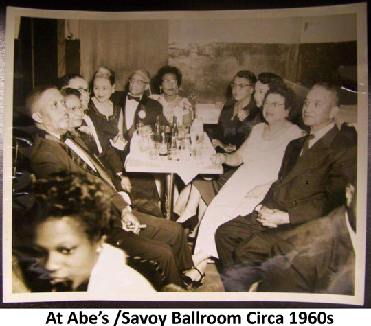 People visit the Savoy Ballroom in the 1960s. The Savoy, which was in the historic Belmont-Devilliers neighborhood, was part of the Chitlin' Circuit, venues where black artists would perform during the Jim Crow era.