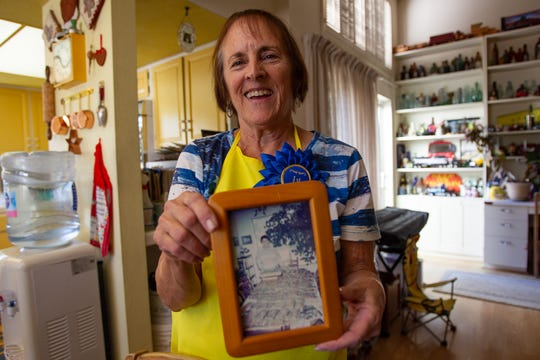One year, Mary Jane McHenry says she made 200 fruitcakes for Christmas presents with the help of friends.