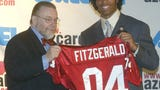 Larry Fitzgerald remembers his first meeting with the late Bill Bidwill, owner of the Cardinals.