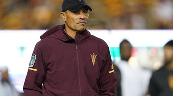 ASU coach Herm Edwards previews the game against Utah on Saturday in Salt Lake City.