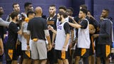 Kent Somers and Duane Rankin of report from Suns training camp on the campus of Northern Arizona University.