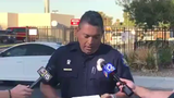 Phoenix police Det. Luis Samudio speaking about a child found dead in a car Tuesday, Oct. 1.