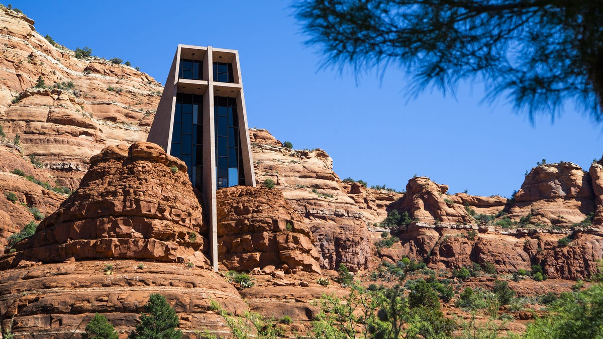 QAnon supporter charged in Sedona Chapel of the Holy Cross vandalism