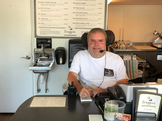 Despite a hereditary disease that's had him in a wheelchair since age 12, Bill Hertzog never let it defeat his entrepreneurial spirit, with Biaggio's being just his latest business venture.