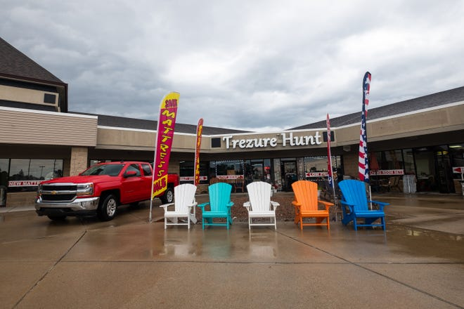 Trezure Hunt, which sells new and higher-end used furniture, was one of the first tenants in the Market Square strip mall in Marysville.