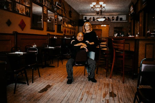 Moises and LaVon Zacatelco own and operate Little Sheba's restaurant on Fort Wayne Avenue.