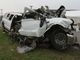 The 2001 Ford Excursion limousine that crashed in Schoharie, New York, on Oct. 6, 2018, killing 20.