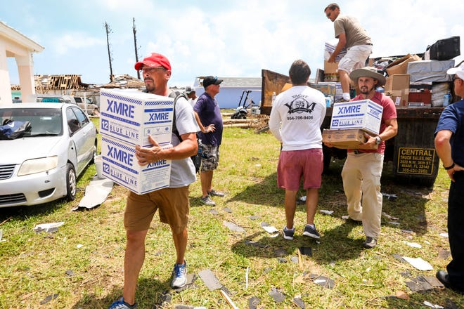 Convoy of Hope is providing relief in Bahamas.