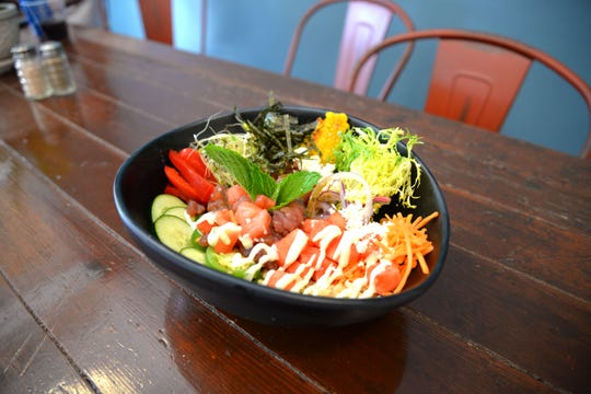 The new poke bowl style restaurant called 101 West Bev opened in October 2019 in downtown Staunton. The new spot offers made-to-order bowls and more.