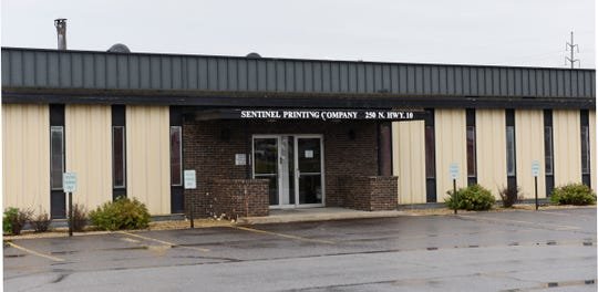 Sentinel Printing Company is pictured Wednesday, Oct. 2, 2019. The company is the oldest business in St. Cloud and will close by the end of the year.