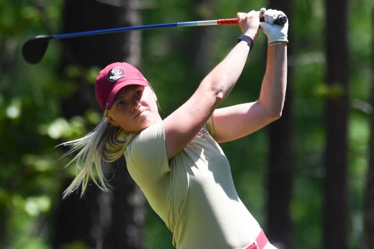 FSU sophomore Frida Kinhult is on pace to post the best career scoring average in program history.