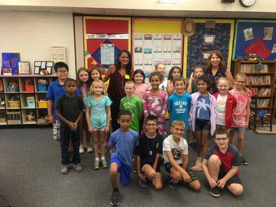 Stacey Schmidt's third grade class at Buck Lake Elementary.
