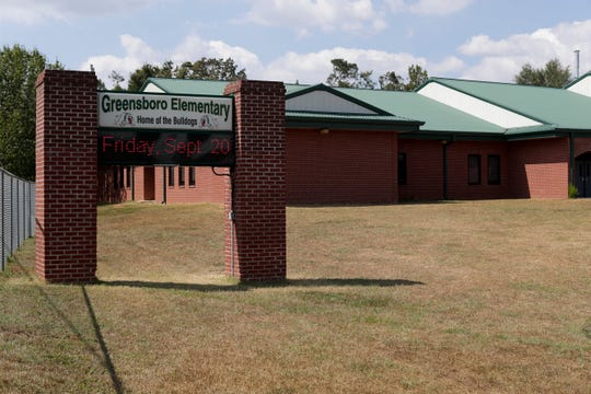 Greensboro Elementary School sustained some damage from Hurricane Michael one year ago.