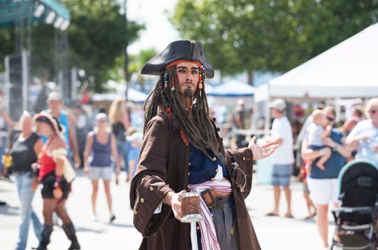 The Port Salerno Mermaid & Pirate Festival is Saturday at The Twisted Tuna.