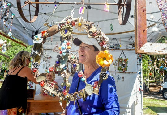 The 32nd annual Autumn in the Park Centennial Arts & Crafts Show is Saturday and Sunday at Riverside Park in Vero Beach.