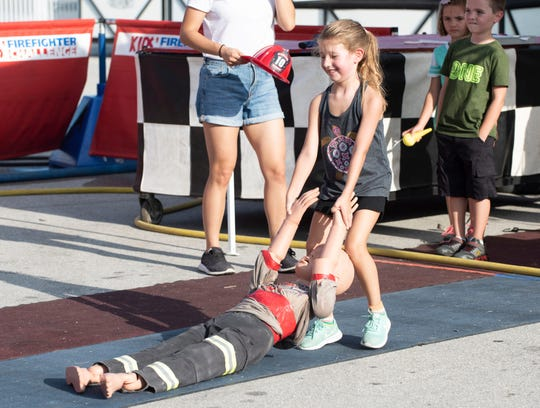 The Firefighter Combat Challenge U.S. Nationals is this weekend at the Manatee Observation and Education Center in Fort Pierce.