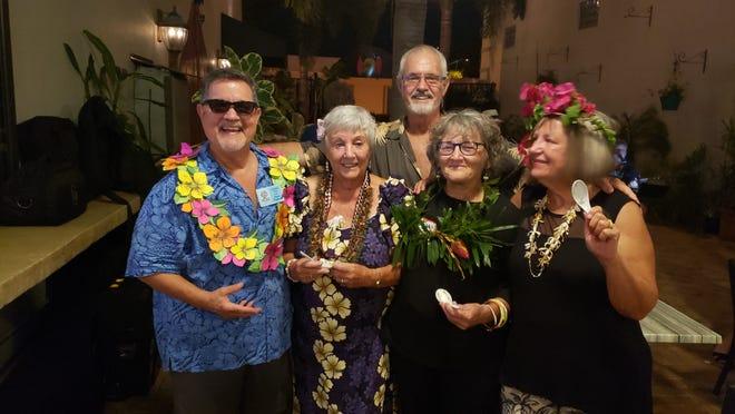 Vero Beach Art Village supporters, from left, Mark Wygonik, Elfie Diamond, Ross Power, Ginny Piech Street and Quentin Walter.