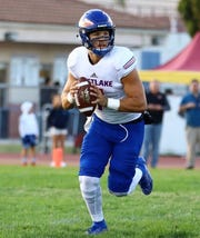 Westlake High quarterback Marco Siderman threw for a program-record 438 yards and 39 completions and tied all-timeschool marks for touchdown passes with five and pass attemptswith 55 during last week's close loss to powerhouse Grace Brethren.