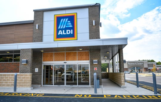 The new Aldi market on South Delsea Drive in Vineland, pictured here on Wednesday, Oct. 2, 2019.