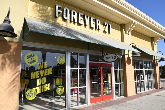 This Forever 21 store in Tulare is among those the fashion retailer said could close as part of the company's bankruptcy.