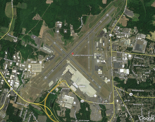 Bradley International Airport, Bradley, Connecticut