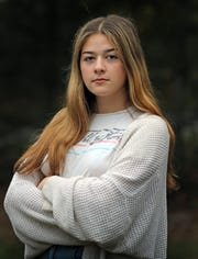 """This doesn't feel over,"" said Anastasia Oberkircher, who was a sexual abuse survivor of Joseph Lewin. Oberkircher was photographed in Blauvelt on Sept. 30, 2019."