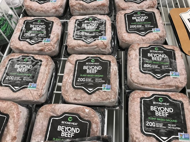Supporters say the law protects meat producers during a time when plate-based foods are rising in popularity. Opponents say the law violates free speech rights.