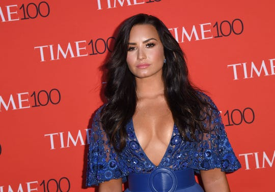 Demi Lovato shared news of her trip to Israel, including her baptism in the Jordan River.
