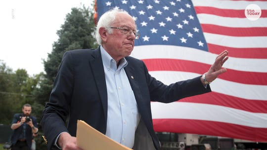 Democratic presidential hopeful Bernie Sanders was hospitalized after experiencing chest pains during a campaign rally in Las Vegas.