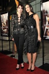 """Demi Moore and Rumer Willis at the Sept. 2009 premiere of """"Sorority Row"""" in Los Angeles, Calif."""