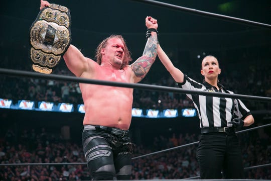 After being a top WWE star for years, Chris Jericho rules in All Elite Wrestling as the reigning champ.