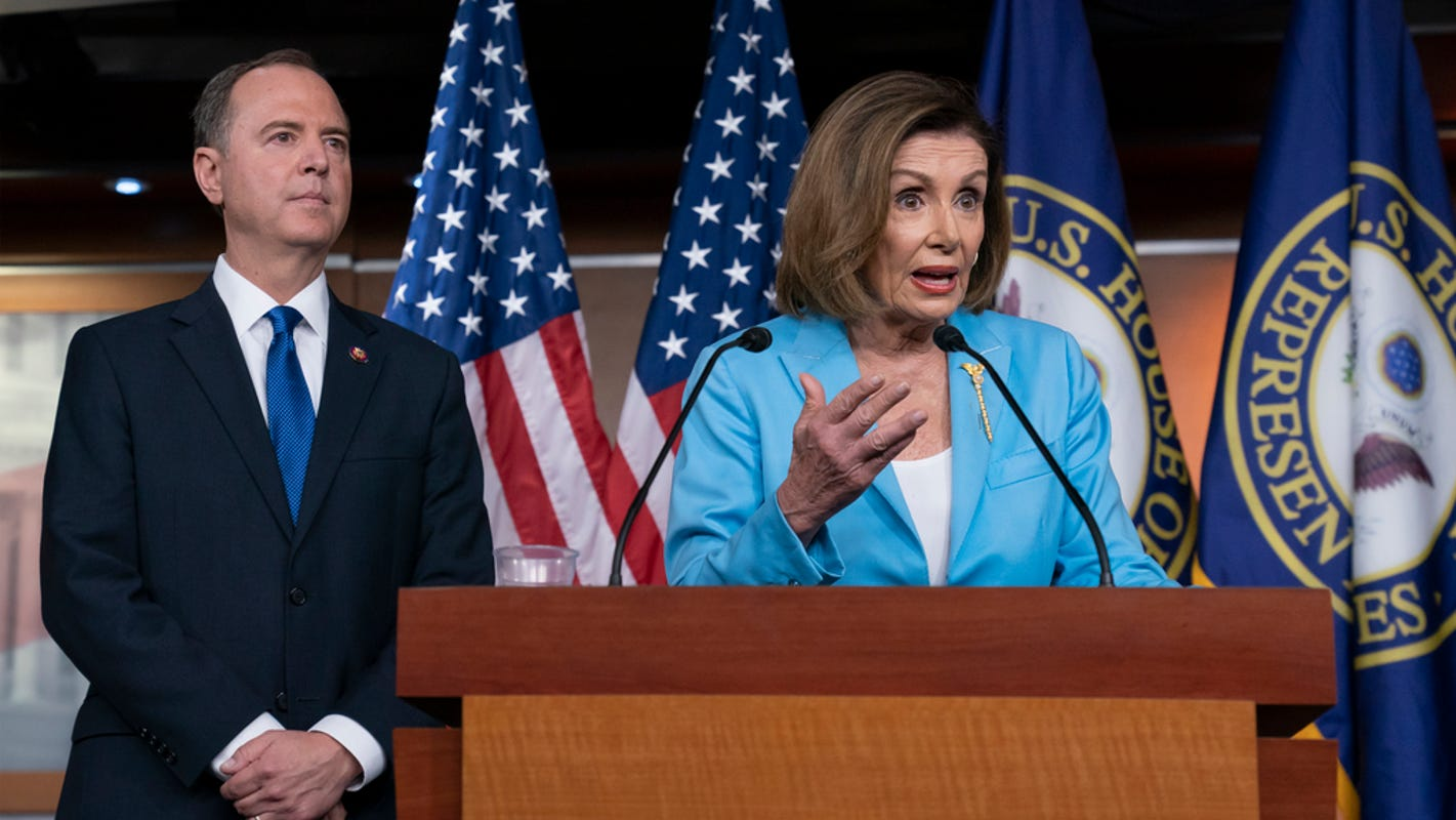 Can members of Congress be impeached? Trump wants Nancy Pelosi, Adam Schiff out over Ukraine investigation