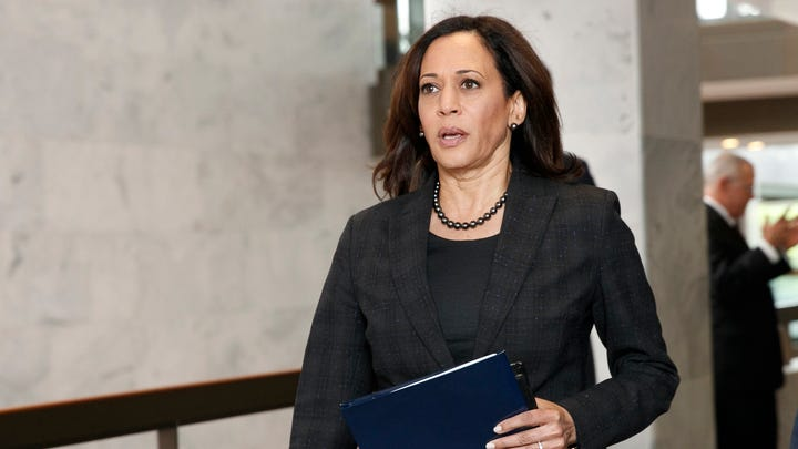 'The words of a president matter': Kamala Harris calls on Twitter to suspend Trump's account