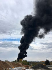 Westlake Legal Group ef8169ae-031b-43a4-8957-56a4cd612fcd-AP_Plane_Crash_Connecticut-2 Multiple deaths reported, Hartford's Bradley airport closed after WWII vintage plane crash