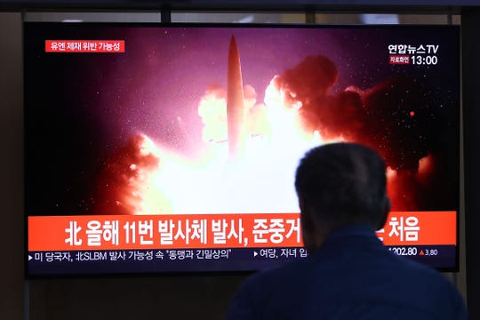 Image result for Before Nuclear Talks: Another North Korean missile experiment