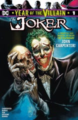 """Check out these USA TODAY NETWORK exclusive images of DC's """"The Joker: Year of the Villain"""" written by John Carpenter and Anthony Burch, with art by Philip Tan and Marc Deering."""