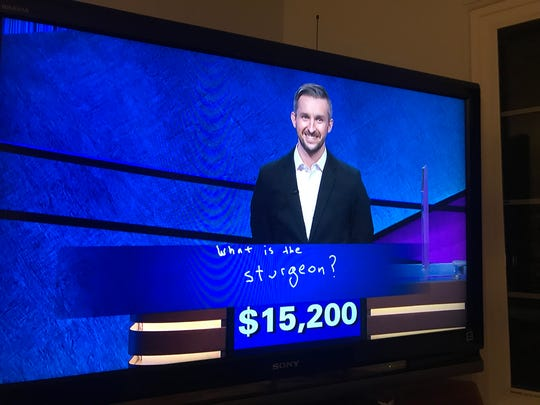 "Binghamton resident Kevin Boettcher correctly answered the Final Jeopardy question on ""Jeopardy"" on Aug. 2, 2019. He advanced to his third consecutive game."