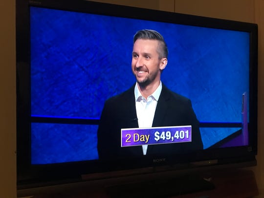 "Binghamton resident Kevin Boettcher has successfully won two games of ""Jeopardy!"" He play a third game on Oct. 3, 2019."