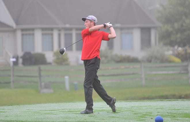 Reece Zeigler will continue his golf career at the collegiate level.