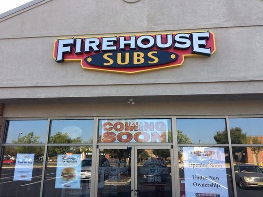 Firehouse Subs is reopening in Moorestown in mid-October. The restaurant closed more than a year ago.