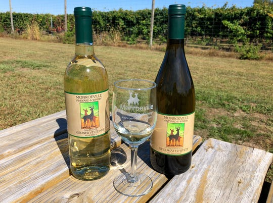 Wines from Monroeville Vineyard & Winery.