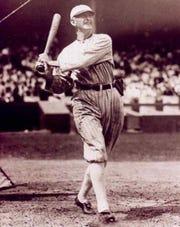 Chicago White Sox outfielder Shoeless Joe Jackson.