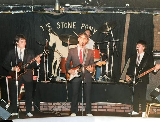 The Smithereens in 1980 at The Stone Pony, where they frequently opened on Thursdays for Lord Gunner Group.