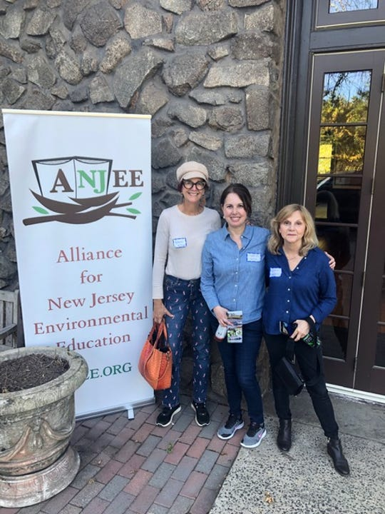 Three Lower School teachers(left to right)Katherine Heiss, Maria Hinestroza and Sue Howard, from The Wardlaw+Hartridge School in Edison, shared their passion for sustainability and made presentations at The Alliance for New Jersey Environmental Education (ANJEE) Conference on Friday, Sept. 27, at Duke Farms in Hillsborough.
